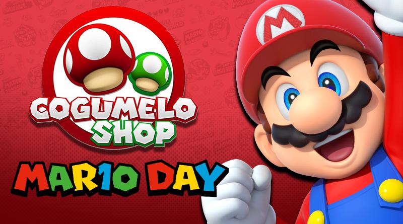 Aproveite o MAR10 Day na Cogumelo Shop com diversos itens do bigodudo em promoção