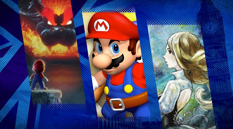 Reino Unido: Top 40 jogos mais vendidos entre os dias 28 de fevereiro e 6 de março
