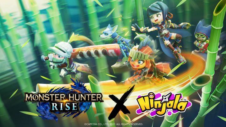 Ninjala   Revelado colaboração com Monster Hunter Rise, dando início a partir de 27 de abril