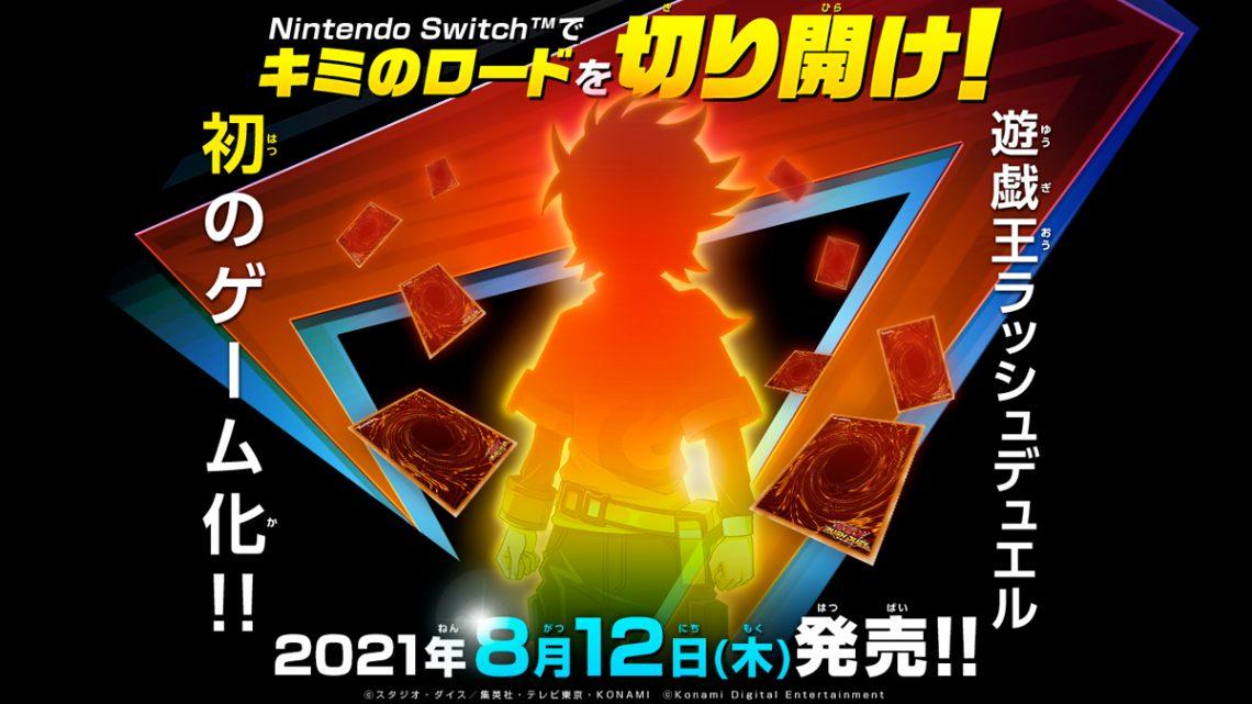 Yu-Gi-Oh! Rush Duel: Saikyou Battle Royale!! chega ao Nintendo Switch em 12 de agosto no Japão