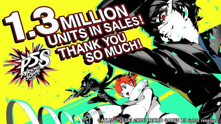 Persona 5 Strikers ultrapassa 1,3 milhão de unidades vendidas no mundo inteiro