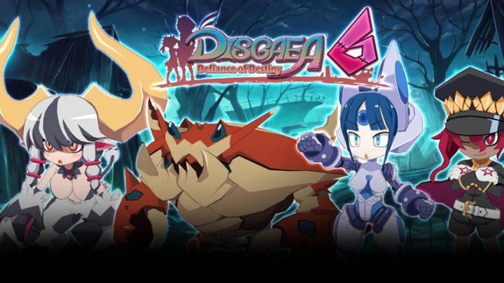 Disgaea 6: Defiance of Destiny | Novo trailer em inglês apresenta as classes Evil Eye, Pincer Shell, Mecha Girl, e Psychic