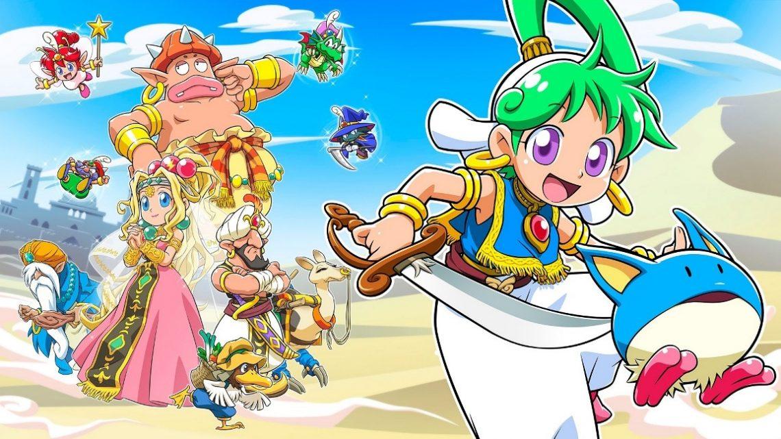 Wonder Boy: Asha in Monster World chega ao Nintendo Switch em 28 de maio na América do Norte e Europa