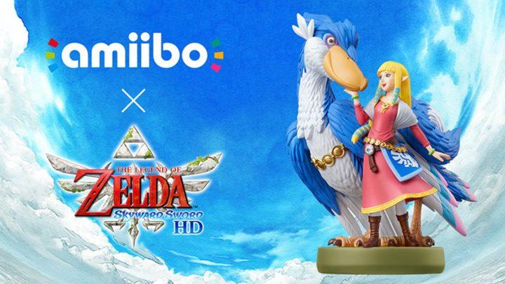 """Novo amiibo """"Zelda & Loftwing"""" chega ao lado de The Legend of Zelda: Skyward Sword HD em 16 de julho"""