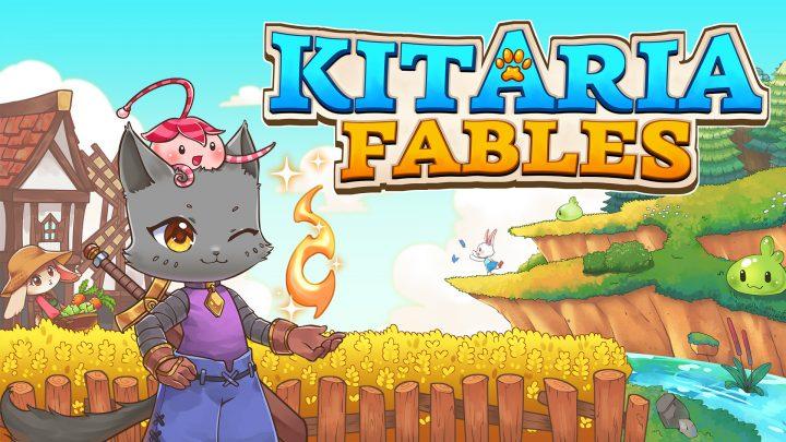 Kitaria Fables, RPG de ação e aventura com simulação de agricultura, chega ao Nintendo Switch em 03 de setembro