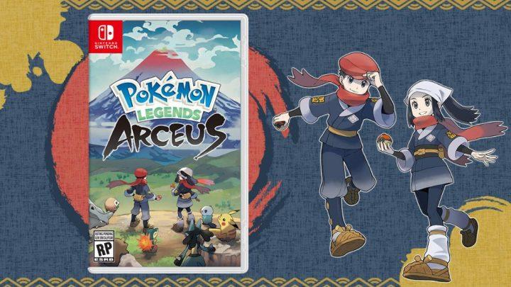 Pokémon Legends: Arceus chega ao Nintendo Switch em 28 de janeiro de 2022