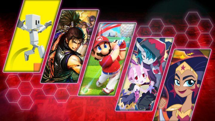 Lançamentos em mídia física para o Nintendo Switch | Junho, 2021