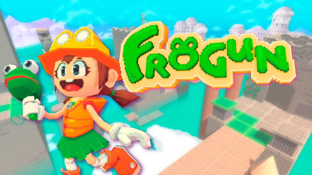 Top Hat Studios anuncia o jogo de plataforma Old-School com estética low-poly Frogun para o Nintendo Switch
