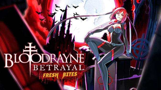 BloodRayne Betrayal: Fresh Bites, remasterização do jogo de plataforma 2D hack 'n slash de 2011, está a caminho do Nintendo Switch
