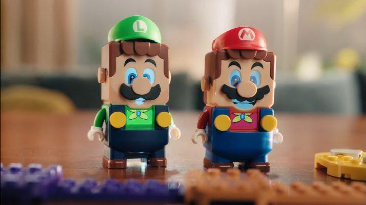 LEGO Group revela uma nova experiência social com Mario e Luigi à sua linha de brinquedos LEGO Super Mario