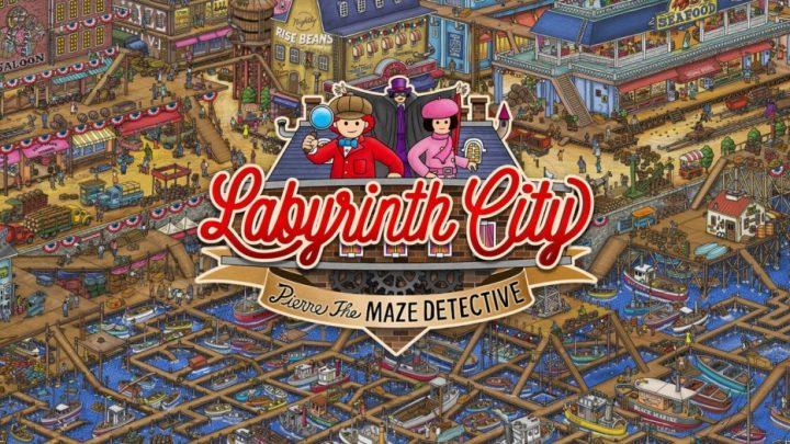Labyrinth City: Pierre the Maze Detective chega ao Nintendo Switch em 15 de julho através da eShop