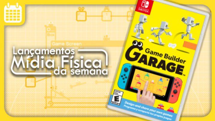 Lançamentos em mídia física da semana | Game Builder Garage, Ninja Gaiden: Master Collection, e mais