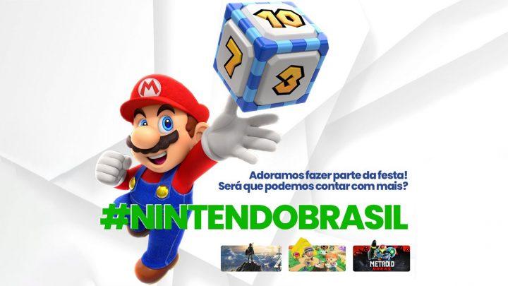#NintendoBrasil | Fãs brasileiros se unem em campanha pedindo por mais jogos Nintendo traduzidos para Português