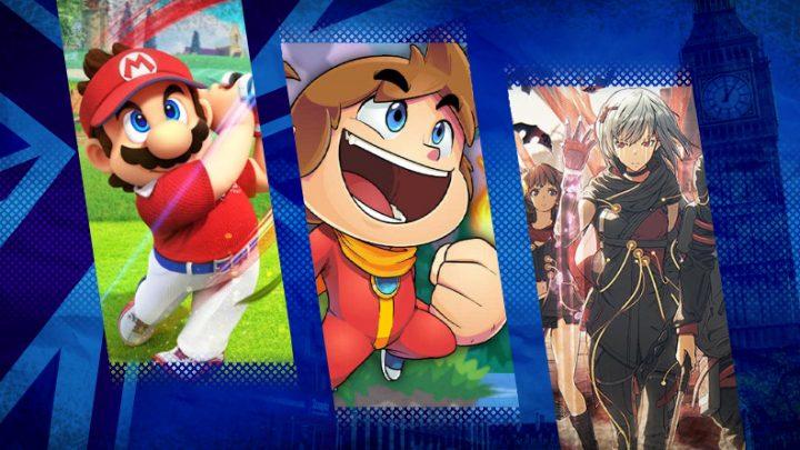 """Reino Unido: Vendas de estreia de Mario Golf: Super Rush foram """"relativamente modestas"""", com vendas 17,5% maiores que Mario Tennis Aces"""