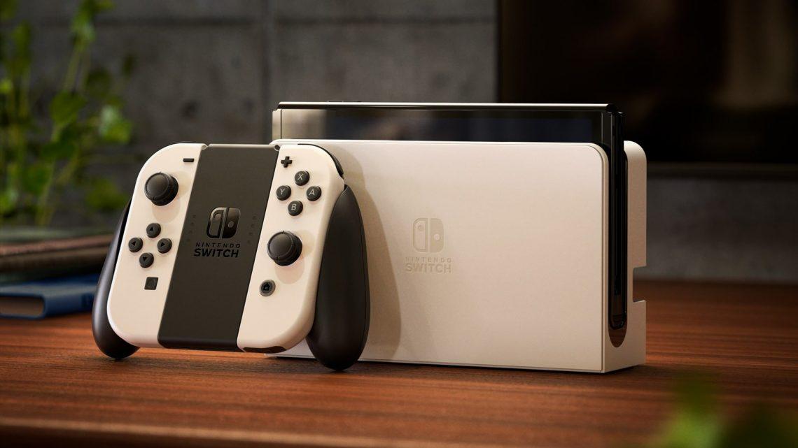 Nintendo anuncia o Nintendo Switch OLED Model, novo modelo com tela OLED de 7 polegadas, amplo suporte ajustável, maior armazenamento interno, e mais