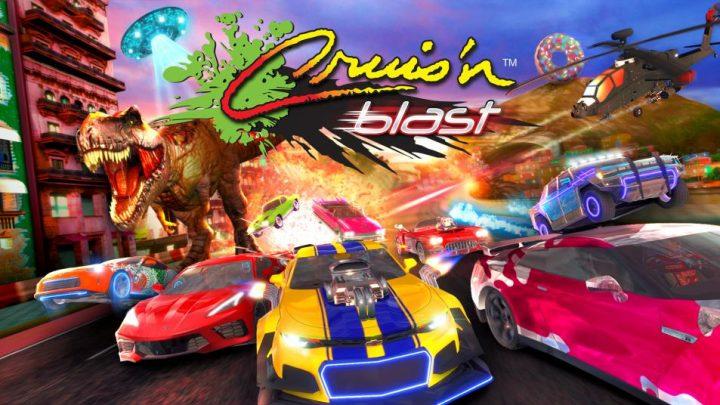 Cruis'n Blast chega ao Nintendo Switch 14 de setembro com distribuição da edição física pela GameMill Entertainment