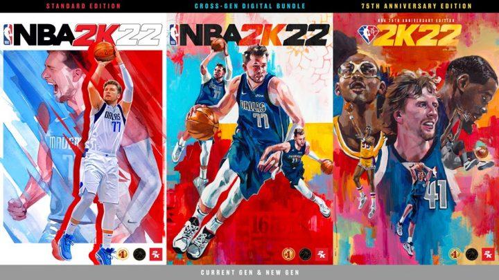 2K Games anuncia NBA 2K22 para o Nintendo Switch