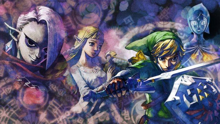 Sobrevoe os céus e testemunhe as origens da Master Sword em The Legend of Zelda: Skyward Sword HD, já disponível no Nintendo Switch