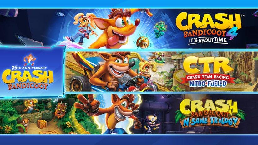 """Celebre os 25 anos de Crash Bandicoot com o bundle """"CRASHversário"""" já disponível na eShop do Nintendo Switch"""