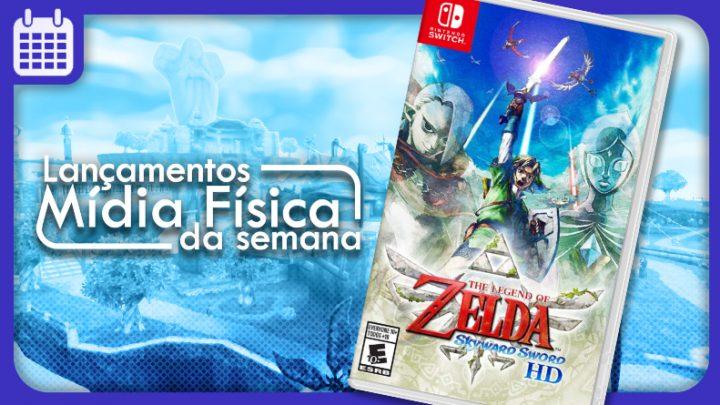 Lançamentos em mídia física da semana   The Legend of Zelda: Skyward Sword HD, Earth Defense Force 2: Invaders From Planet Space, e mais