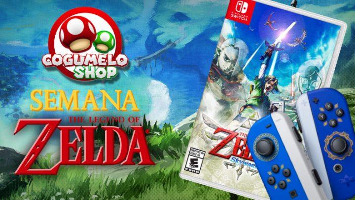 Semana The Legend of Zelda na Cogumelo Shop: Diversos itens relacionados à The Legend of Zelda com desconto especial por tempo limitado