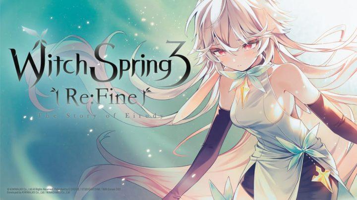 WitchSpring3 Re: Fine — The Story of Eirudy chega ao Nintendo Switch em 13 de agosto na América do Norte e Europa