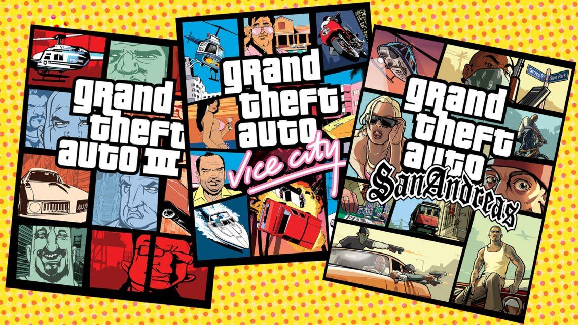 Kotaku: Grand Theft Auto III, San Andreas e Vice City possivelmente ganhando remasterização para o Nintendo Switch usando a Unreal Engine