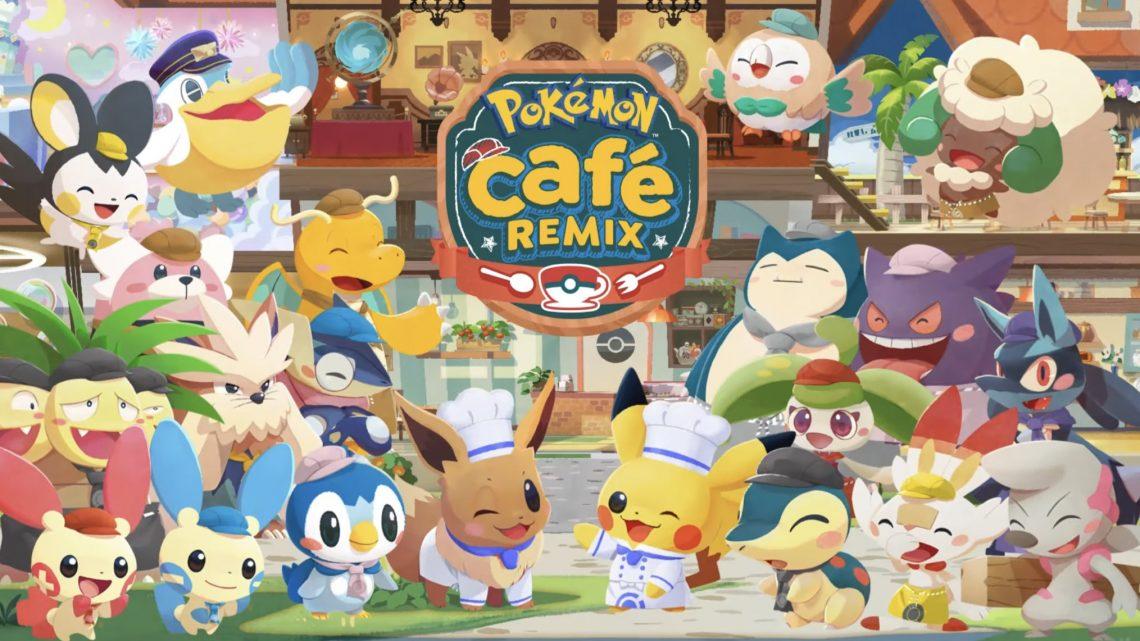 Pokémon Café ReMix é uma reformulação do jogo de puzzle Free-to-Play para Nintendo Switch e smartphones que chega no final de 2021; Detalhes