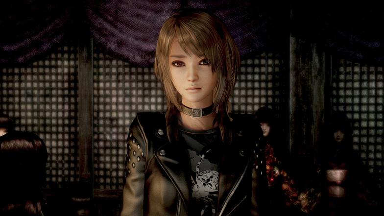 Experimente jogar Fatal Frame: Maiden of Black Water usando a nova linha de trajes inusitados para Yuri, Miu, e Ren