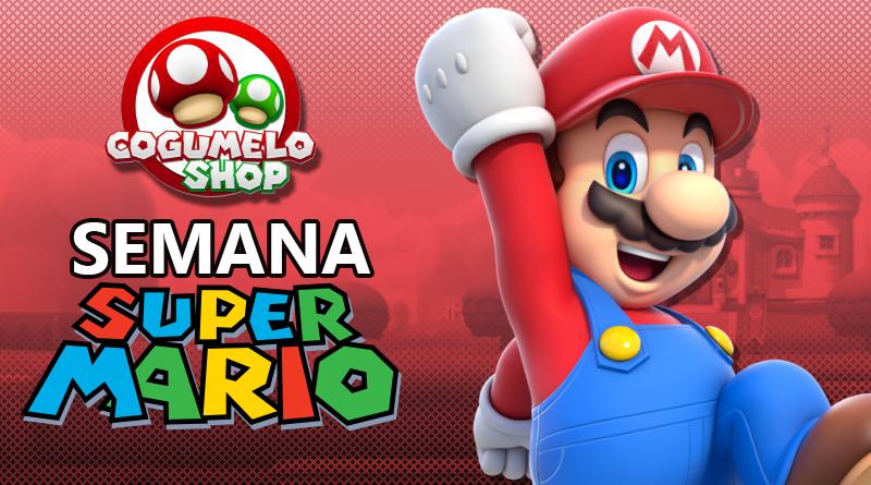 Semana Super Mario na Cogumelo Shop: Encontre jogos de Switch e outros itens relacionados à Mario com desconto especial por tempo limitado