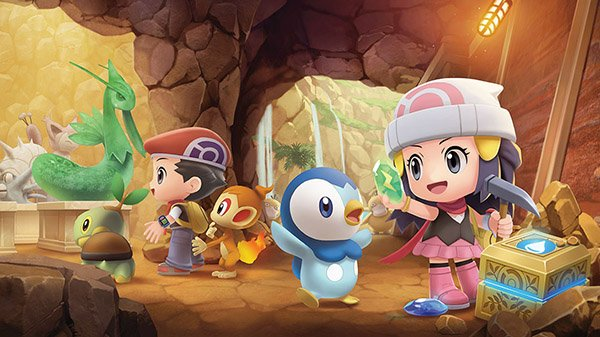 Pokémon Brilliant Diamond & Pokémon Shining Pearl | Novo trailer; Detalhes para o Grand Underground, Super Contest Show, e mais