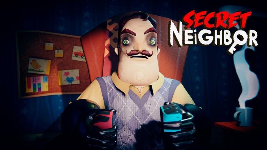 Junte-se a seus amigos e descubra os segredos sombrios do Sr. Peterson  quando Secret Neighbor atingir o Nintendo Switch em 26 de agosto –  NintendoBoy