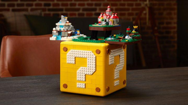 Recrie a magia do clássico título do Nintendo 64 com o LEGO Super Mario 64 ? Block