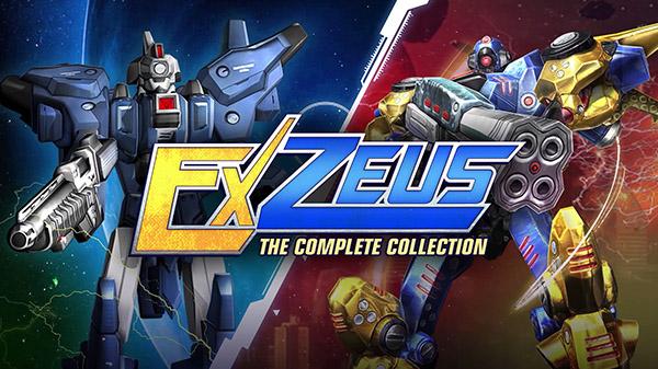 ExZeus: The Complete Collection chega ao Nintendo Switch em 30 de setembro trazendo os Rail Shooters ExZeus e sua sequência totalmente atualizados