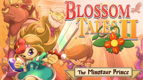 Blossom Tales II: The Minotaur Prince, a sequência do aclamado action-adventure 2D de 2017, está a caminho do Nintendo Switch