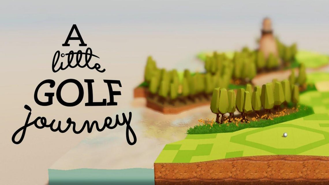 A Little Golf Journey chega ao Nintendo Switch em 14 de outubro trazendo uma experiência relaxante combinando narrativa e quebra-cabeças