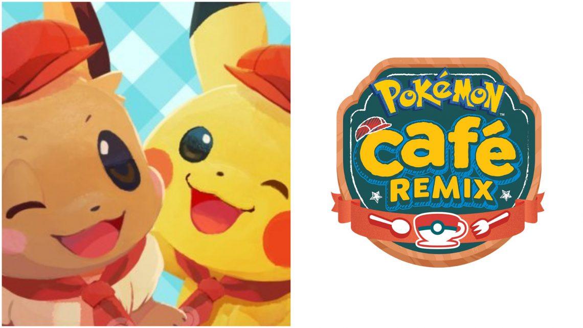 O que será transferido após Pokémon Café Mix se tornar Pokémon Café ReMix?