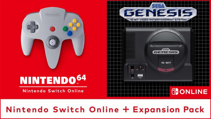 "Nintendo anuncia o ""Expansion Pack"" como nova modalidade do Nintendo Switch Online, oferecendo títulos de Mega Drive e Nintendo 64"