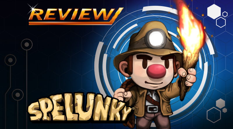 Review   Spelunky