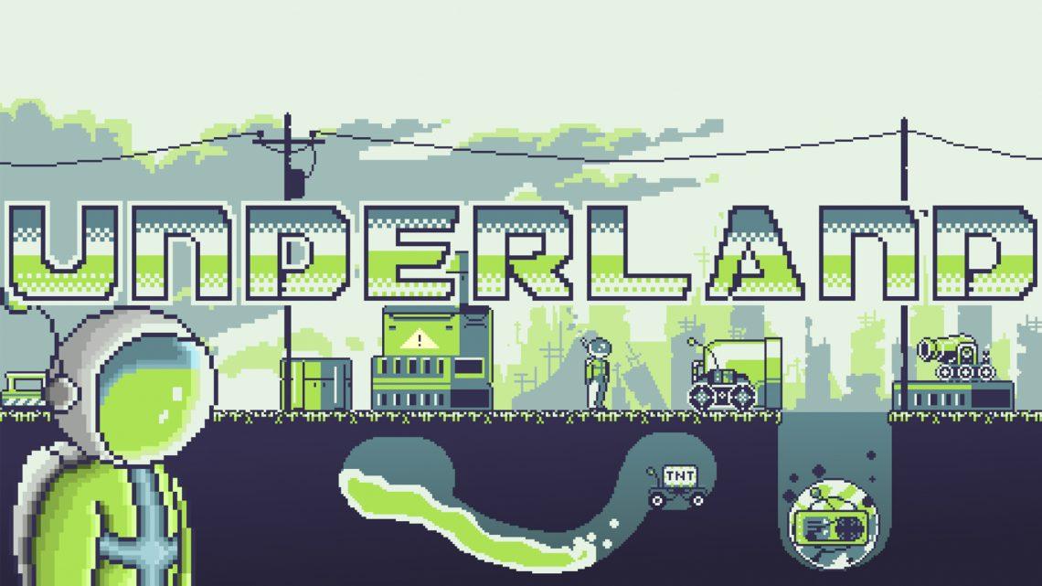 Quebra-cabeças desafiadores envolvendo física esperam por você em Underland, jogo indie de estúdio brasileiro chegando ao Nintendo Switch em 30 de setembro