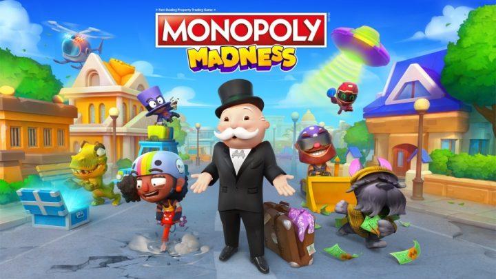 Jogue MONOPOLY de uma forma nunca antes vista com o frenético e caótico MONOPOLY Madness, chegando ao Nintendo Switch em 09 de dezembro,  2021